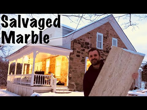 Salvaged Marble   Home Renovation   Ep. 158