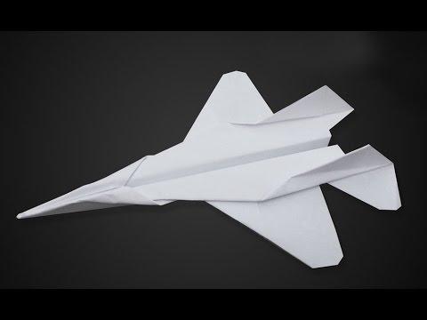Как сделать бумажный самолетик - Orgigami | Mikoyan MiG-29