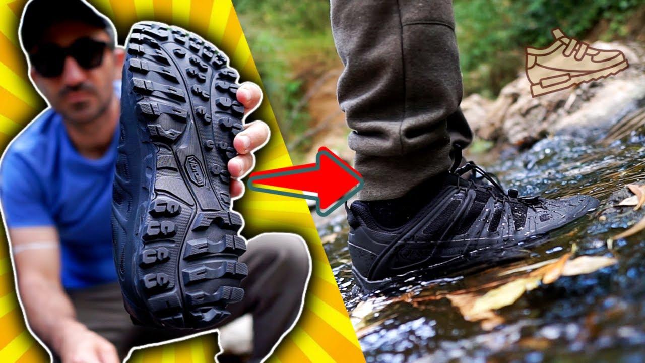 Ο Πετράν Δοκιμάζει Αδιάβροχα Παπούτσια || AKU SELVATICA TACTICAL GORE TEX
