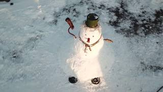 Самый красивый Снеговик. Самый  большой в ПМР.