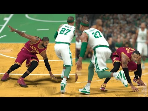 NBA 2K17 My Career - Kyrie Touches the Flat Earth! PS4 Pro 4K