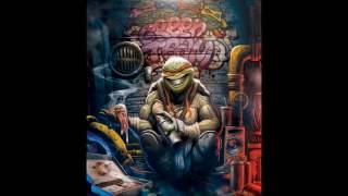 SATURNO (the Creatter)  for TMNT - Time lapse