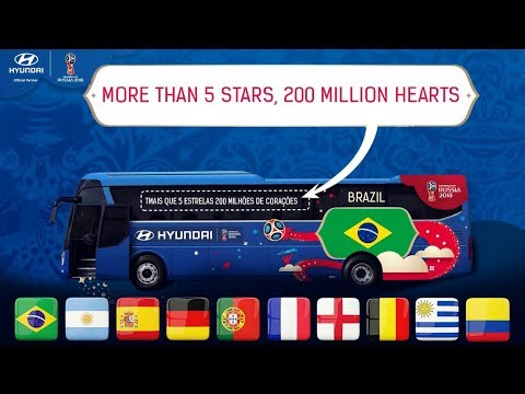 Official Bus Slogans Of All The National Teams II World Cup Russia 2018 II