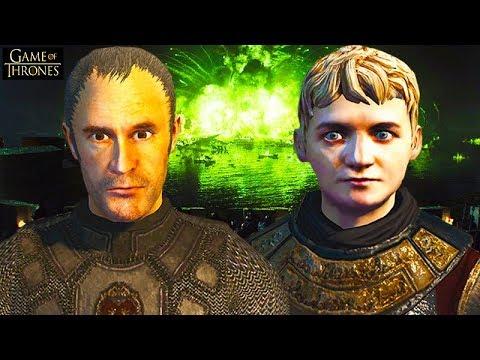 BATTLE OF THE BLACKWATER! KING'S LANDING SIEGE GAME OF THRONES! Seven Kingdoms Total War: Gameplay