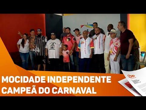 Mocidade Independente campeã do Carnaval - TV SOROCABA/SBT