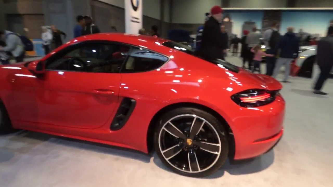 2018 porsche 718. perfect 2018 porsche 2018 718 cayman model washington dc auto show 2017 and porsche
