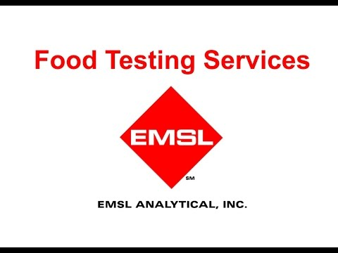 Food Testing Services By EMSL Analytical, Inc.