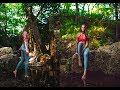 Outdoor Natural Light Fitness Photoshoot Using my 35mm 1.4 Sigma Lens - Behind the Scenes