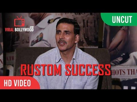UNCUT - Akshay Kumar Full Interview   Rustom Success Press Conference