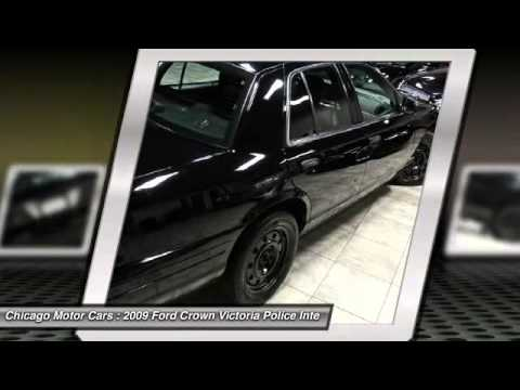 2009 ford crown victoria police intercepto chicago motor for Chicago motors used police cars