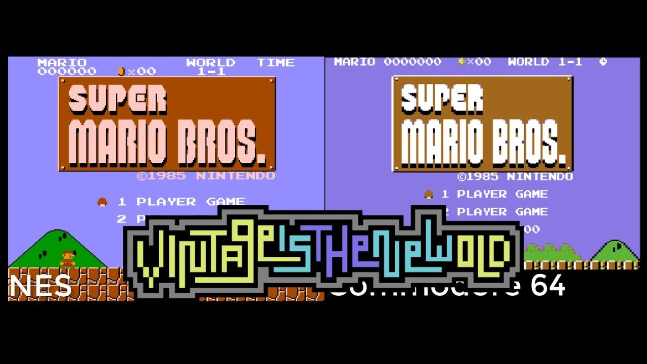 Super Mario Bros for C64 Released – Grab Your Copy Quick While Its
