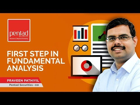 Remastering Equities: First step in Fundamental Analysis (Episode 8)