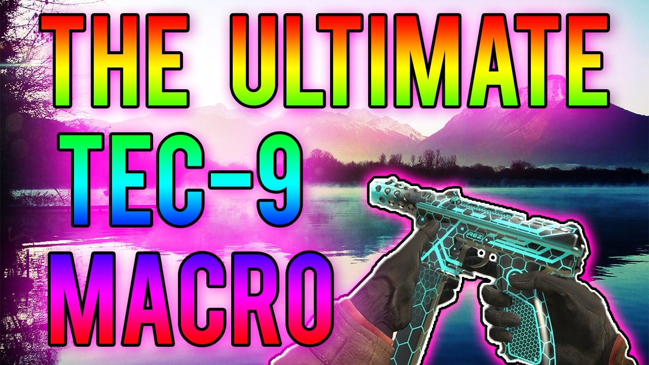 The ULTIMATE 'TEC-9' Macro for CSGO! Get the PERFECT SPRAY (Updated Version)