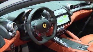 2016 Geneva Motor Show - Ferrari GTC4 LUSSO | AutoMotoTV