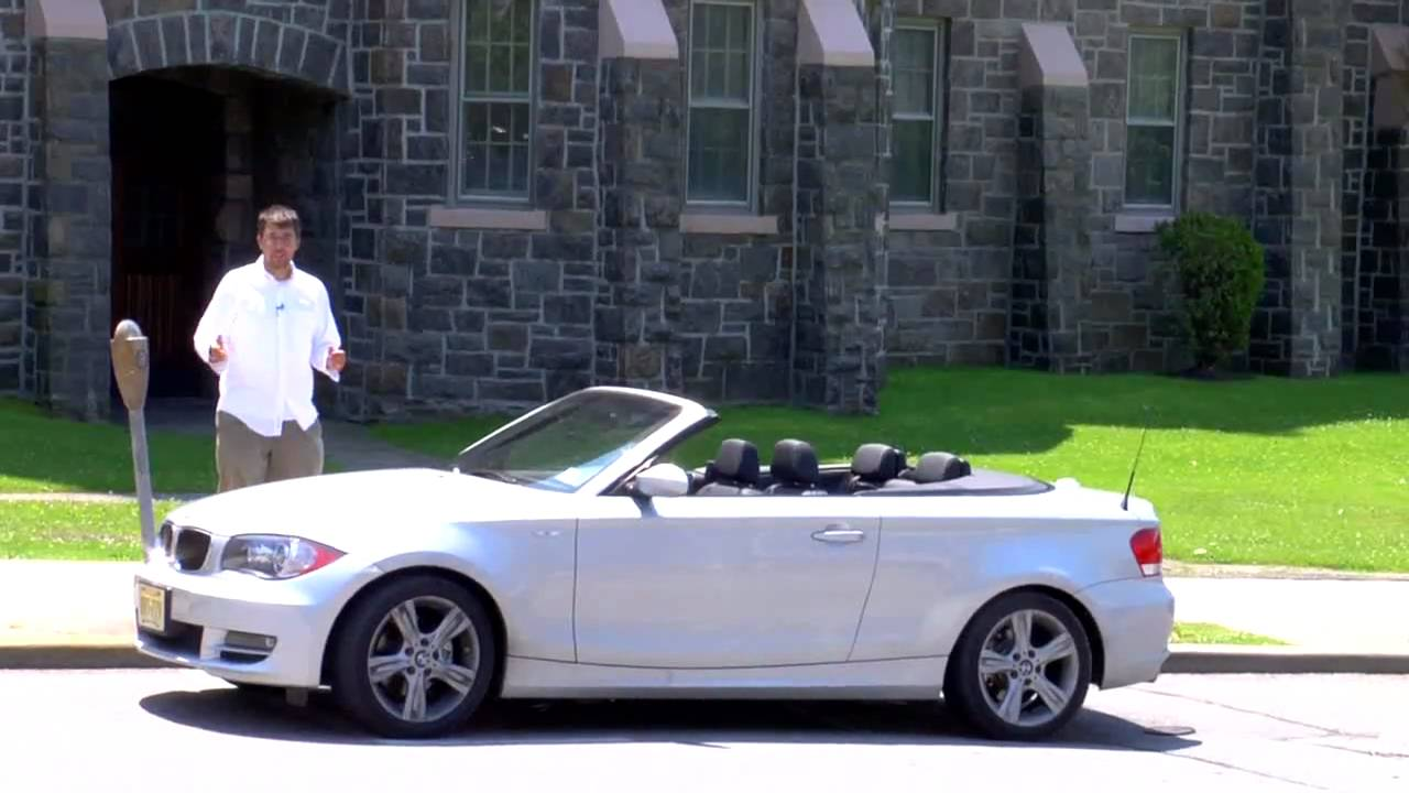 2009 BMW 128i Convertible Review - FLDetours - YouTube
