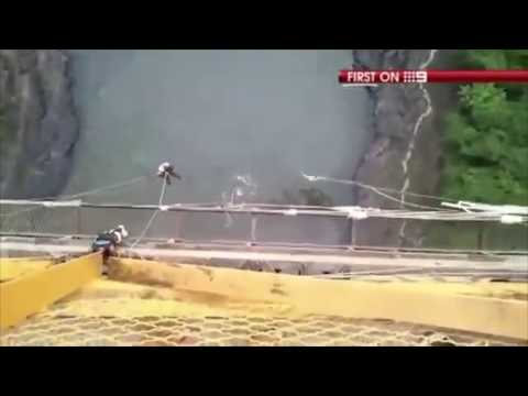 Bungee Jumping Fails Compilation, Graphic