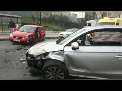 Accidente en la Calzada das Gándaras