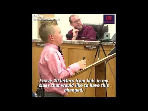 Matt and Aly - AWESOME SAUCE: 9-Year-Old Gets Law Changed