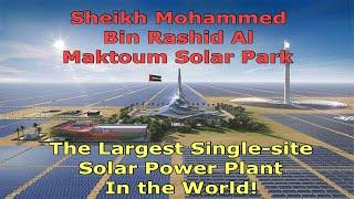 Mohammed Bin Rashid Al Maktoum Solar Park  in Dubai