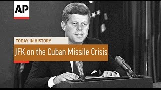 JFK on the Cuban Missile Crisis - 1962  | Today in History | 22 Oct 16