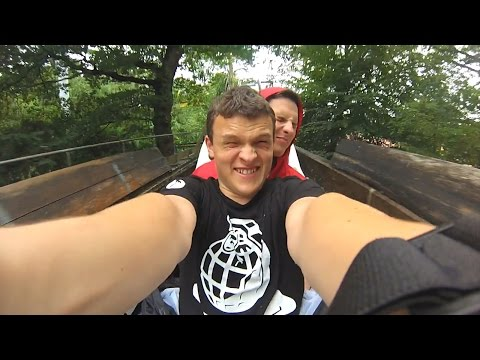 Alton Towers Resort - 2015 - GoPro - (Theme Park, Water Park And Golf)