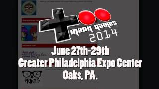 Too Many Games 2014 Announcement!