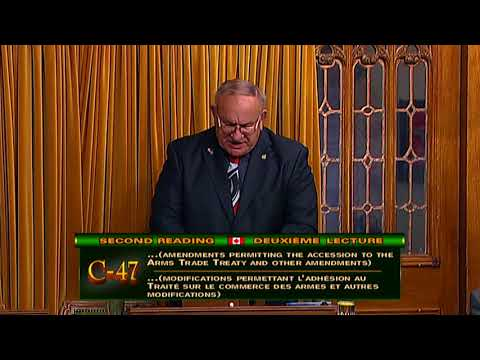 C-47 - 'An Act to Amend the Export and Import Permits Act and the Criminal Code