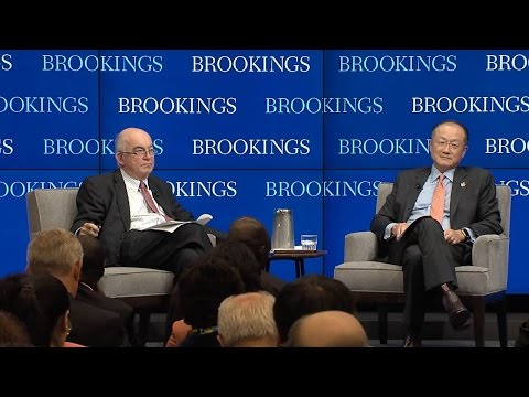 A conversation with World Bank President Jim Yong Kim