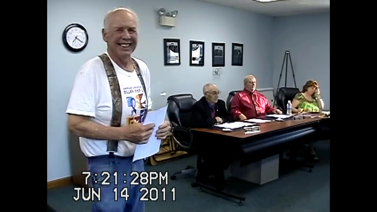 Champlain Town Board Meeting  6-14-11