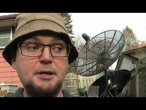 Solid VS Mesh satellite dish?