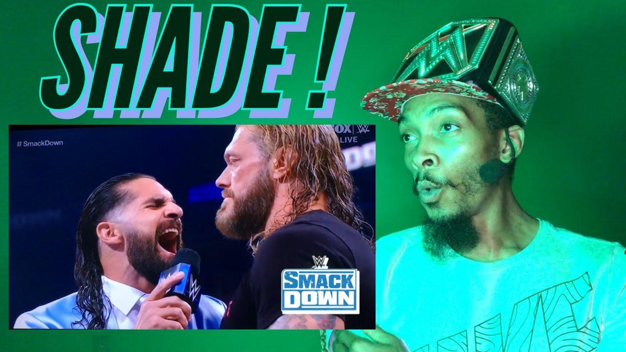 WrestleShadeTNS   Seth Rollins Throws Shade At Edge NECK !