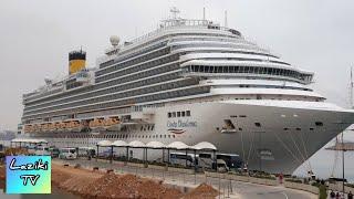 Круиз на лайнере Costa Diadema | голова кругом подарки бассейны рестораны учебная тревога