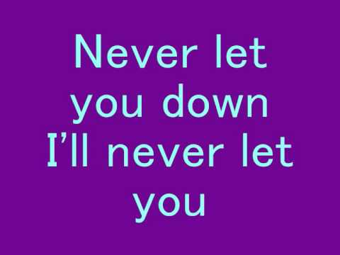 David Bowie - Never Let Me Down *Lyrics*