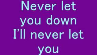 David Bowie Never Let Me Down Lyrics
