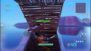 This guy call me trash because im a no skin (Fortnite battle royale)
