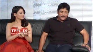 Nagarjuna and Tamannaah Funny Interview About Oopiri Movie   Nagarjuna, Karthi, Tamannaah   TFPC