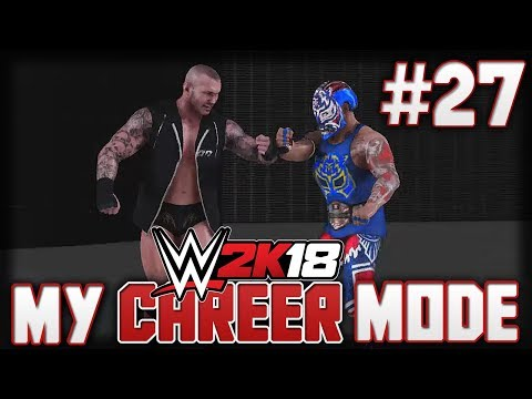 WWE2K18 MyCareer Mode - DON'T SWITCH SHOWS WHILE CHAMPION! - Episode 27