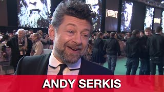 The Hobbit 3: Andy Serkis Interview - The Battle of the Five Armies World Premiere