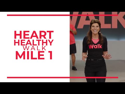Heart Healthy 1 Mile Walk | Walk at Home