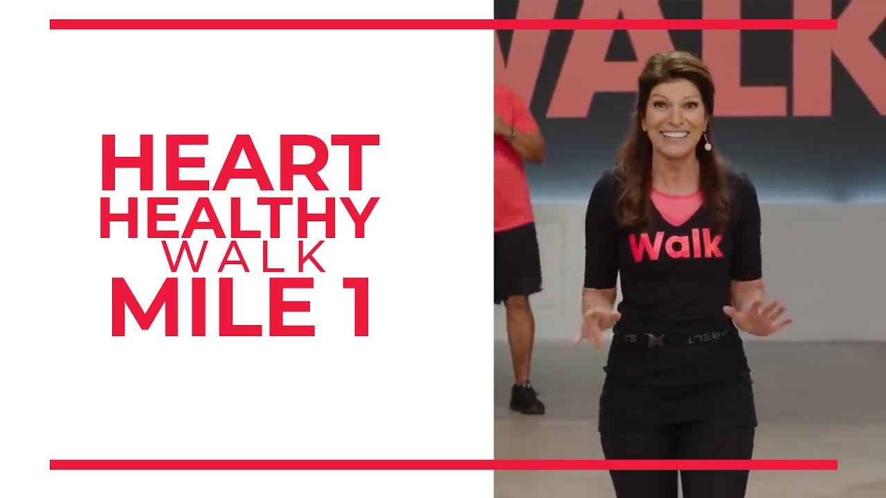 Heart Healthy – 1 Mile Walk | Walk at Home