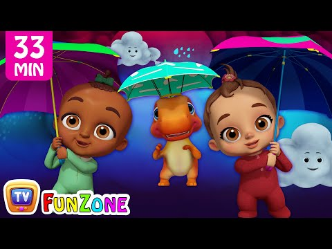 Rain Rain Go Away & Many More Popular 3D Nursery Rhymes Collection by ChuChu TV Funzone