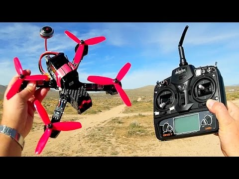 Walkera Furious 215 FPV Racer Drone Flight Test Review