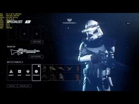 Star Wars Battlefront II(2017)  GTX 1060 6GB I5 6500