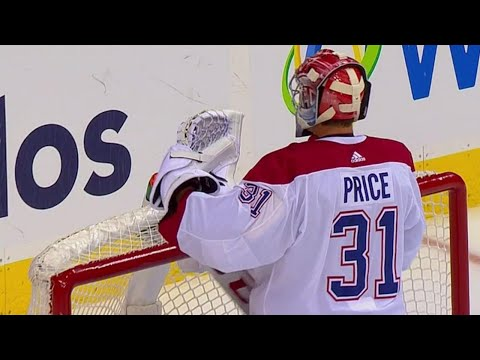 Not Price's night, gives up three goals in three minutes against Capitals