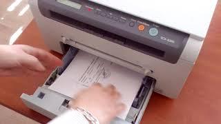 обзор принтера Samsung SCX-4220