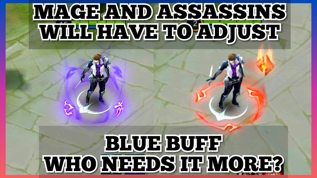 blue buff or red buff? is red buff that useful? - mobile legends bang bang
