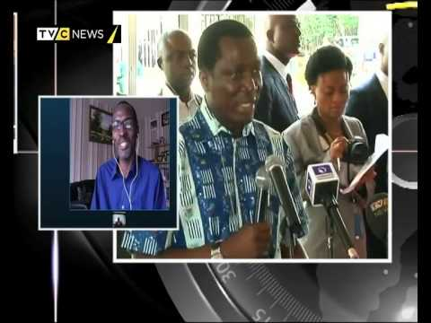 DR. KACH ONONUJU & KAYODE OGUNDAMISI ON BAN KI-MOON'S VISIT TO NIGERIA | TVC NEWS - YouTube