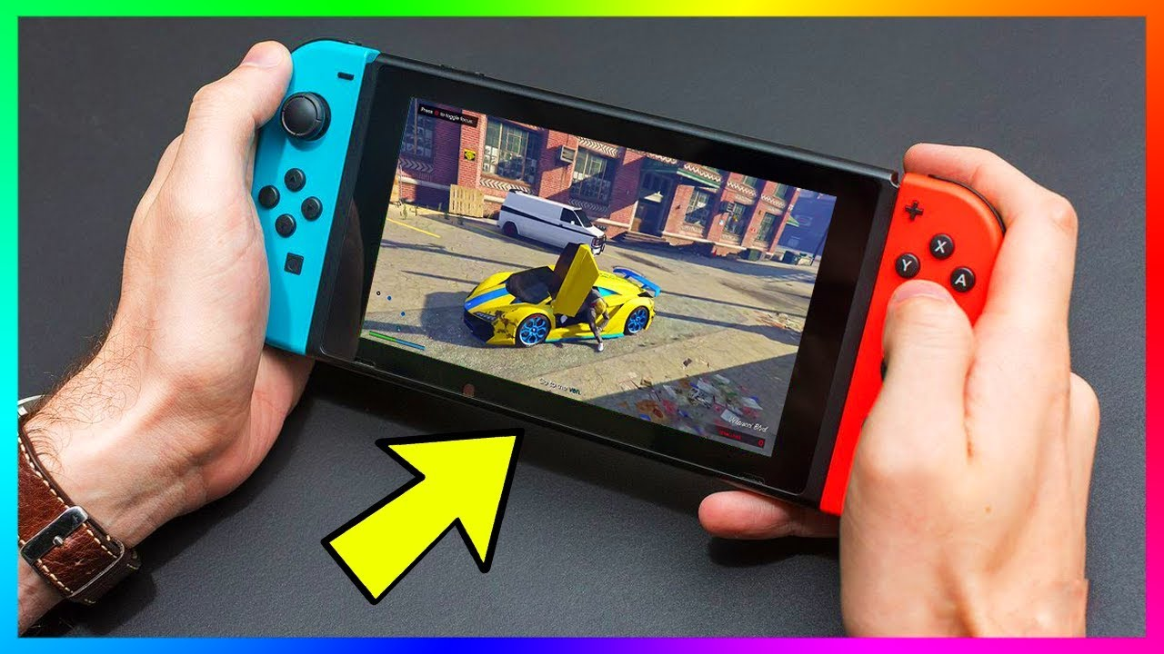 GTA 5 Coming To A NEW Console - HUGE RUMORS! Release Date, Nintendo Switch  Details & MORE! (GTA V)