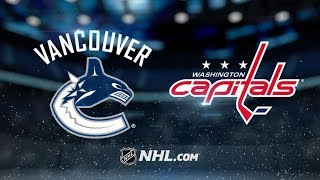 Vancouver Canucks vs Washington Capitals | Feb.05, 2019 | Game Highlights | NHL 2018/19 |Обзор матча