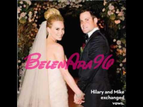 Hilary Duff married - YouTube